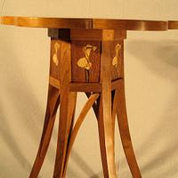 Cherry Tea Table - Woodworking Project by tinnman65