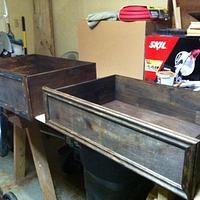 Distressed nightstand/dresser - Woodworking Project by Bulldawg