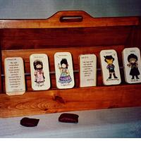 Knock-the-sin-out! game - Woodworking Project by Lightweightladylefty