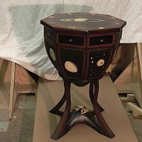 side table - Woodworking Project by Uwe Salzmann