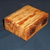 Spalted maple + walnut clasp/hinges - Woodworking Project by JayKayPur