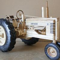 John Deere B  from Toys and Joys - Woodworking Project by Dutchy