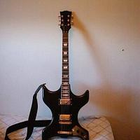 Old project - Guitar - Woodworking Project by Thorreain