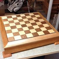 Chess board - Woodworking Project by Jack King