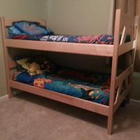Bunk Beds - Woodworking Project by David E.