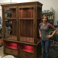 Sheri Noble, woodworking at it's finest!