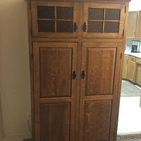 Free Standing Pantry - Woodworking Project by Billp