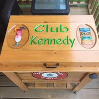 cowboy cooler - Woodworking Project by Kevin Kennedy