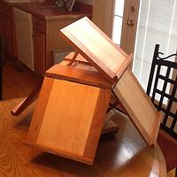 Jeffersonian Bookstand - Woodworking Project by Jack King