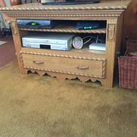 Mom's Entertainment Center - Woodworking Project by Bob Ruane