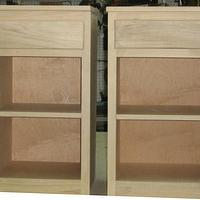 simple bedside nightstands - Woodworking Project by a1jim