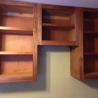Breakfast nook & cabinets  - Woodworking Project by David A Sylvester