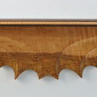 Sculpted Wall Shelf - Woodworking Project by Greg