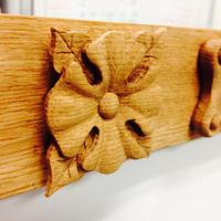 Heritage Frame details - Woodworking Project by Mike C.