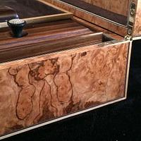 Pepperwood Writing Box - Woodworking Project by RogerBean