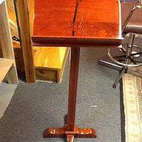 Music stand - Woodworking Project by Jack King