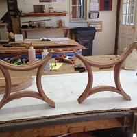 Circle & Inverted Circle French Doors - Woodworking Project by David A Sylvester