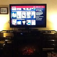 Fireplace TV stand - Woodworking Project by Thorreain