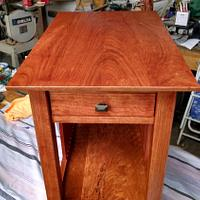 cherry end tables - Woodworking Project by kenmitzjr