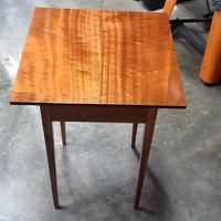 Mahogany Shaker End Table - Woodworking Project by 3fingerpat