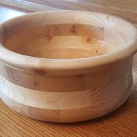 Cradle and a bowl - Woodworking Project by Tim