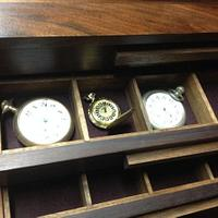 Pocket watch collection case - Woodworking Project by MSRiverdog