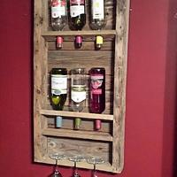 Barn Wood Wine Rack - Woodworking Project by James