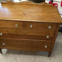 Dresser restoration - Woodworking Project by Rickswoodworks