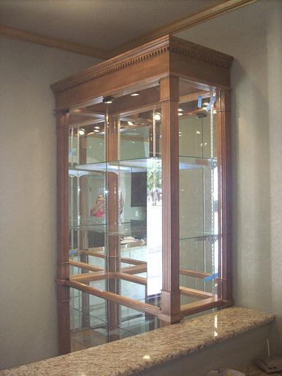 Trophy Case  - Woodworking Project by Right Angle Woodworks
