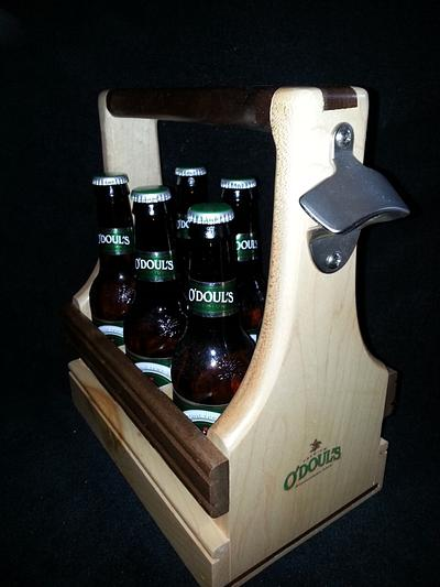 Beer Carrier - Woodworking Project by Jeff Vandenberg