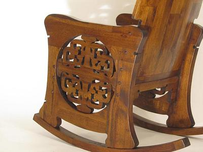 Rohlfs Inspired Rocking Chair - Woodworking Project by Woodbridge
