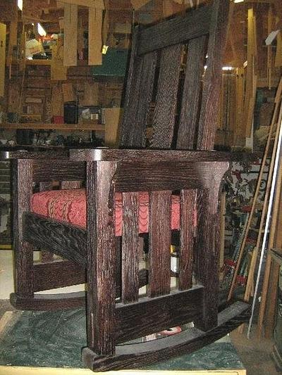 Morris style rocker - Woodworking Project by a1jim