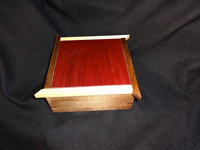 Five Little Tea Boxes - Woodworking Project by Ellen