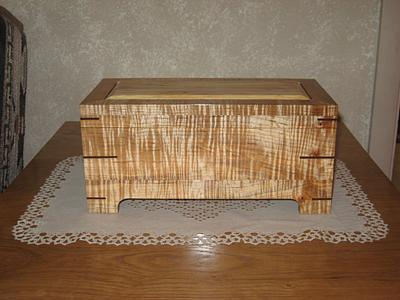 Jewlery box - Woodworking Project by stopherswoods
