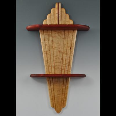 Art Deco wall shelf - Woodworking Project by Greg