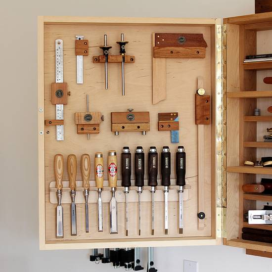 Tool Cabinet - Woodworking Project by Norman Pirollo