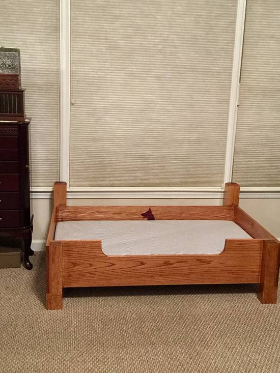 Walnut Dog Bed - Woodworking Project by James Tillman
