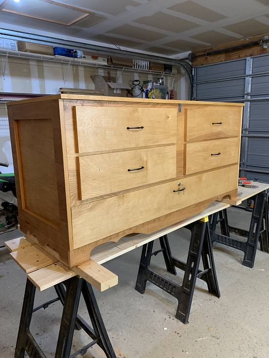 Hope chest w/gun storage  - Woodworking Project by Ethan
