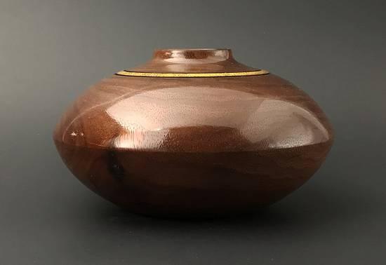 Walnut Hollow Vessel - Woodworking Project by Lew