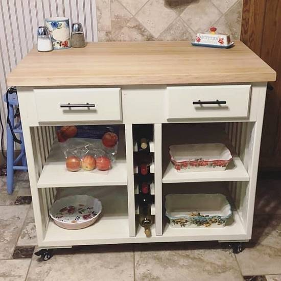 Kitchen Island - Woodworking Project by Fiftyfoursouth