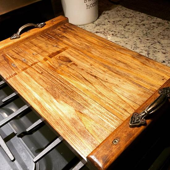 Handcrafted Serving Tray - Woodworking Project by Ker