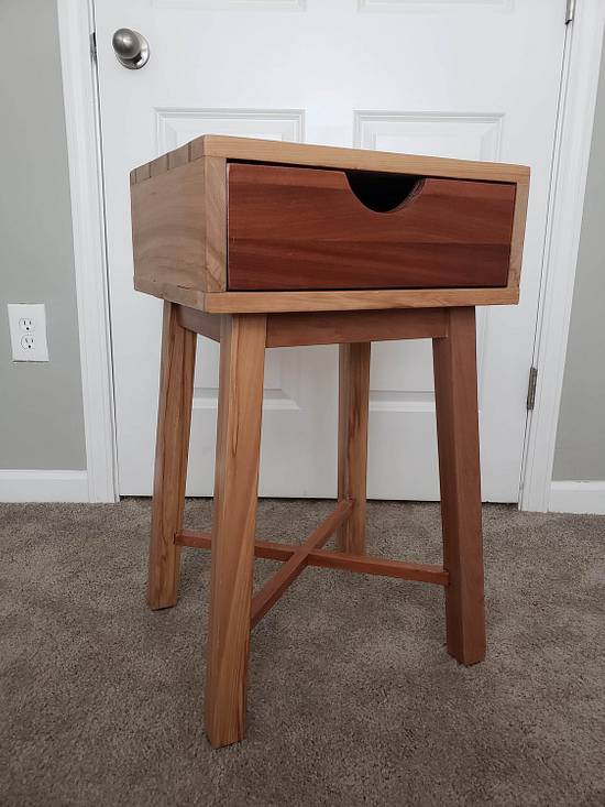Night Table - Woodworking Project by Bruce63