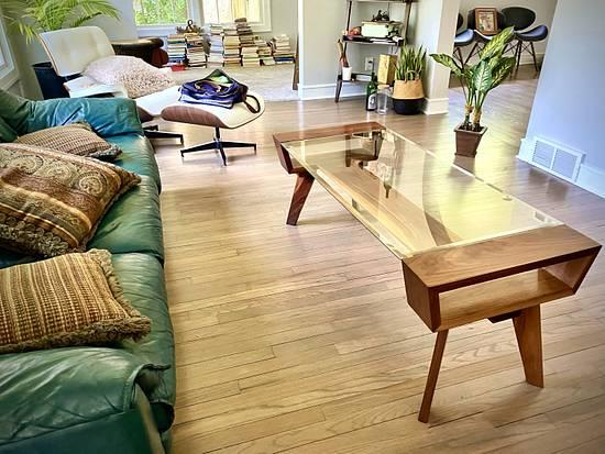 Walnut Coffee Table  - Woodworking Project by Mike Jones