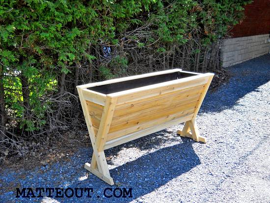 White Cedar raised garden - Woodworking Project by Matteout