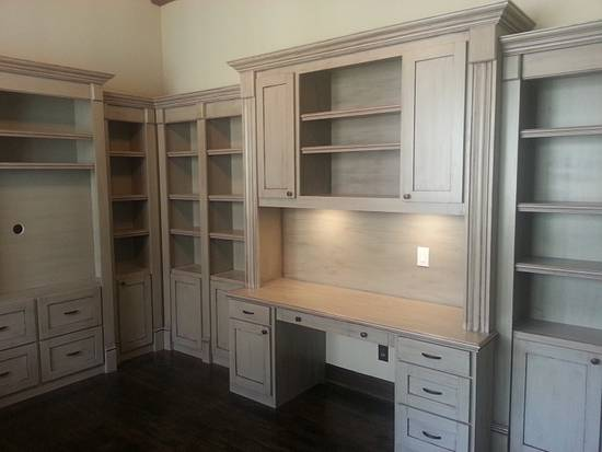 Home office built-ins - Woodworking Project by Bill