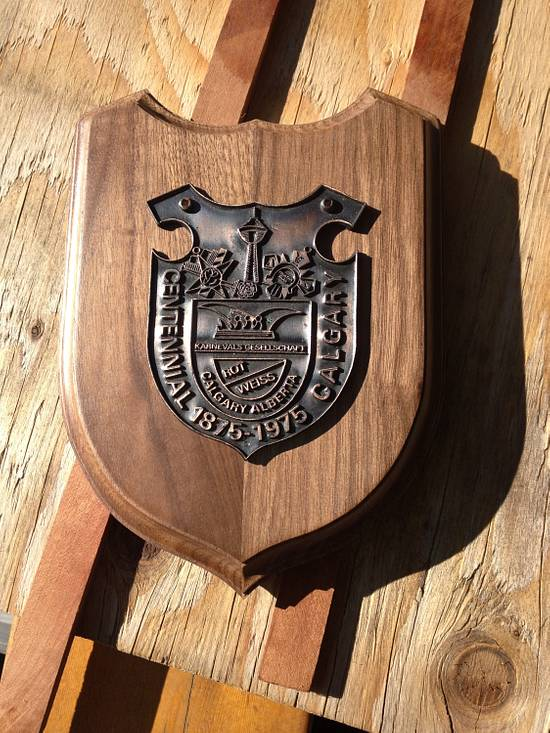 Plaque Board - Woodworking Project by Railway Junk Creations