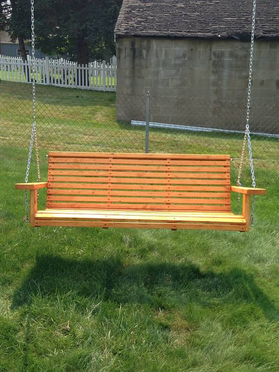 Swing - Woodworking Project by twigg