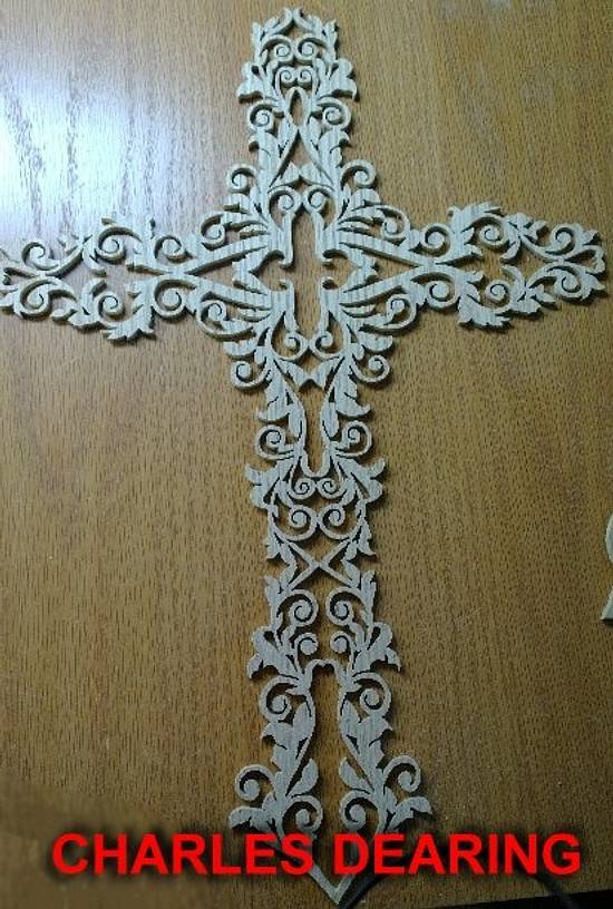 If I did this right, here are some examples of my work, done on a scroll saw - Woodworking Project by Charles Dearing Scroll sawyer and pattern designer