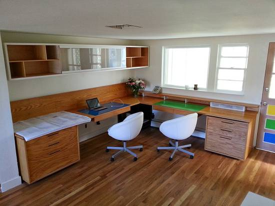 Home office - Woodworking Project by Brian