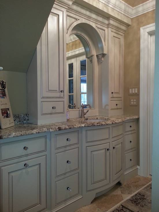 Custom bathroom cabinetry - Woodworking Project by Steve66
